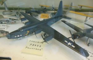 USN Consolidated PB4Y-2 Privateer by rlkitterman