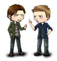 SPN: Bitch and Jerk by Cristina-Corruptive