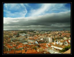 lisbon downtown by Titareco