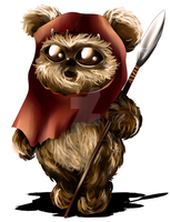 Ewok Chibi by ExoroDesigns