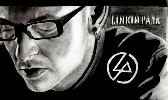 Linkin park- chester by Levandi00