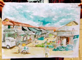 Gedebage Traditional Market. Bandung by LACHI17