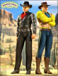 -Western Outfit Released- by ken1171