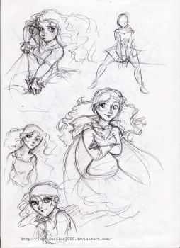 Brave sketches by ingridsailor2009