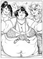 SHiC3 Pv2 Big Girls Selfie by TheAmericanDream