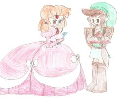 Classic Zelda and Link by Aquateen510