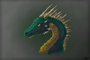 Dragon Head PS by DRexySeamfire