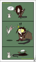 Cats are scary... by shorty-antics-27
