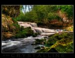 Apple River Falls by C-Photography