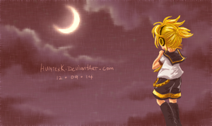 [VOCALOID] Under the moon by HunterK