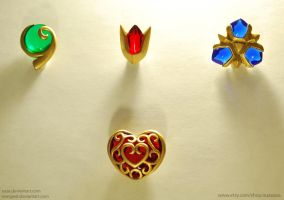 New Zelda Charms by tomgiest