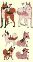 Breedable Pups Adoption 8 CLOSED by MichelsAdoptions