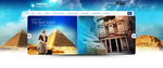 Travel Website Header by blacktwo