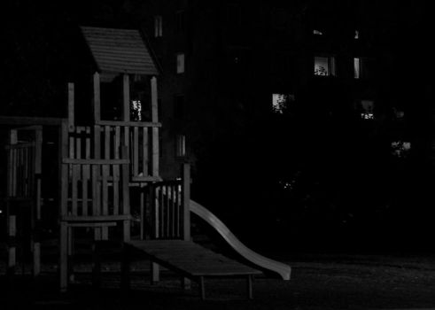 playground at nite by salsr