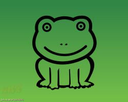 NARUTO - Green Frog Icon by jaxspider