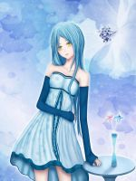 Blue Dress by sarafim341