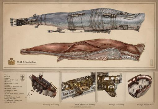 The Leviathan by Keithwormwood