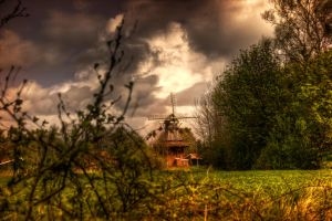 The old Windmill by t-3-t