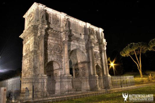 Italy - Arch of Constantine by cogs8