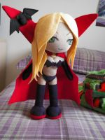 Pheleon Plush - Vicky Swan the Vampire 01 by kamon-san