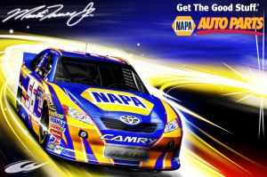 2011 NAPA CAR by nascar3d