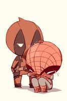 Spideypool97 by LKiKAi
