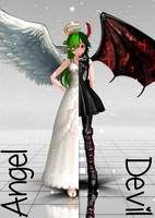 Updated Angel and Devil Gumi Download by megpoid625