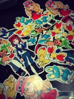 Pokemon Stickers by AnjohInc