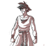 goku by AtomicRedBoots