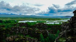 Thingvellir Iceland by StarrDaniel