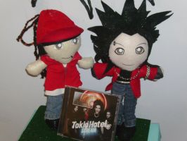 Bill-Tom Kaulitz Plushies 4 by VilleVamp