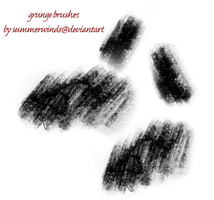 grunge brushes by summerwinds
