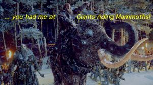 ... you had me at Giants riding Mammoths! by TADASHI-STATION