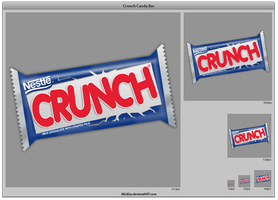Crunch Candy Bar by Mickka