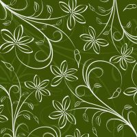 Free Floral Pattern Background Vector Graphic Art by vectorbackgrounds