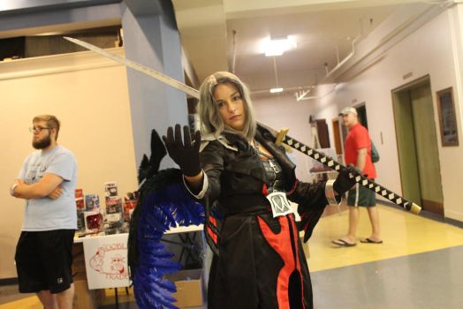 Lady sephiroth at herocon by Lady-Sephiroth