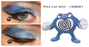 Pokemakeup 062 Poliwrath by nazzara