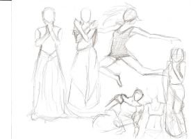 Gesture Drawing 3 by hunapo