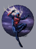 Spider Man 2099 - Colored by nursury0