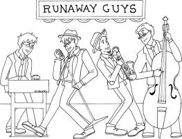 The Original Runaway Guys by ThatOneNPC