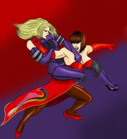 Nina vs Anna by odinforce23