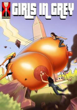 Girls in Grey 2 - Alien Amazon Attack by expansion-fan-comics