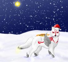 Merry Christmas From Ammy by MegBeth