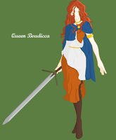 Queen Boudicca of the Iceni by Yukira-Hotoshi