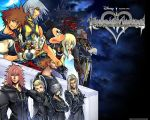 Kingdom Hearts Wallpaper by Allemantheia