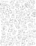 60 POKEMON ON ONE PAPER by Momogirl