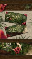 Tropical Beach Party Flyer by Sed-rah