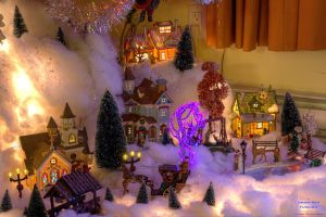 Xmas Village 2010 by digswolf