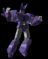 Cyclonus the Warrior Colored by Johnny216
