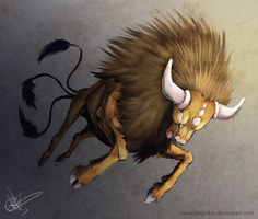 Tauros by Magickie